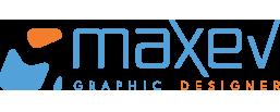 Maxev | Graphic Designer Logo